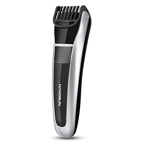 Hangsun Beard Trimmer Rechargeable Body Mustache Stubble for Men Cordless Grooming Haircut Kit HC150 with Adjustable Blade Combs and Safety Lock