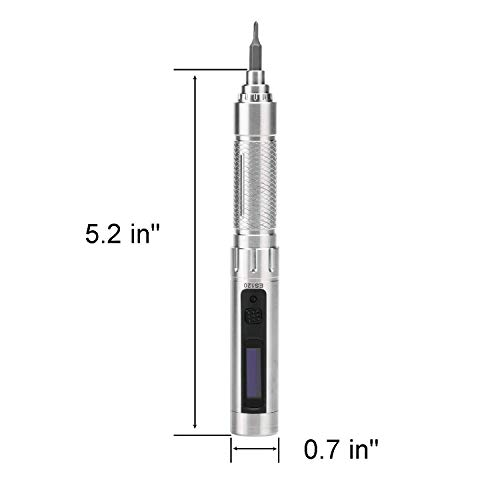 SainSmart ES120 Electric Motion-Control Rechargeable Screwdriver Kit, Repair Tools for Small Devices