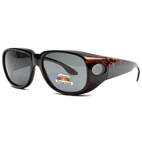Eye Wear - Gafas de sol polarizadas, color marrón marrón Talla única