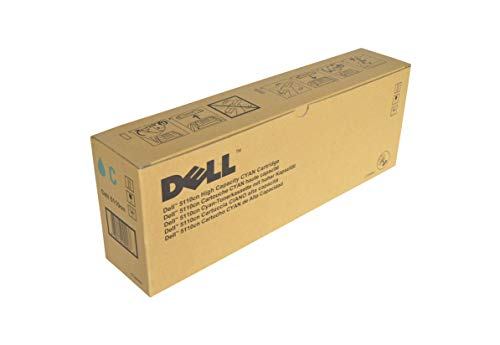 Dell GD900 5110CN 5110N Toner Cartridge (Cyan) in Retail Packaging