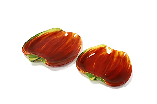 Interos 2-delige set glasplaten appel Scarlet 8/10-AS van GELA24