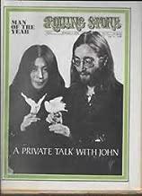 Rolling Stone Magazine Feb. 7, 1970 Issue 51 John Lennon & Yoko Ono Cover