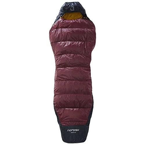 Nordisk Oscar +10° Curve Schlafsack L Rio red/Mustard Yellow/Black 2021 Quechua Schlafsack
