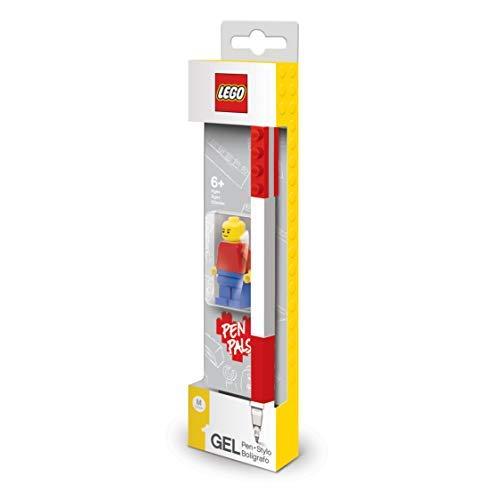LEGO - Gel Pen - Rot + Minifigur