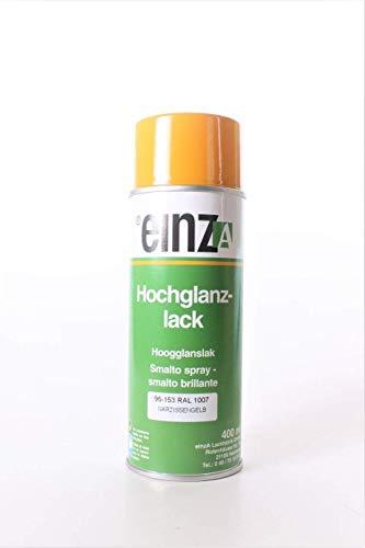 einzA Hochglanzlack Spraydose 400ml RAL 1007 gelb Acryl-Lack Sprüh (100ml=2,25EUR)