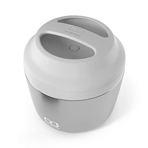 MB Element gris Silver - Lunch box isotherme - Maintient votre repas au chaud et au frais jusqu'à 10h