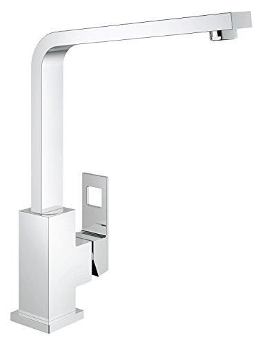 GROHE Eurocube | Küchenarmatur - Einhand-Spültischbatterie, Schwenkbereich 360° | chrom | 31255000