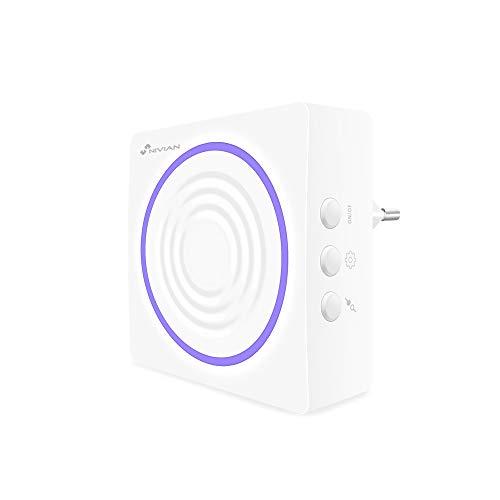 Nivian sirena inalámbrica compatible con sistema de alarma Nivian – Apta para...