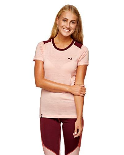 Kari Traa Tikse - T-Shirt Manches Courtes Femme - Rose Modèle S 2019 Tshirt Manches Courtes