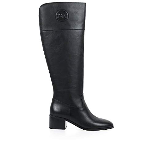 Luxury Fashion   Michael Kors Dames 40F9DYMB5L001 Zwart Leer Laarzen   Herfst-winter 19