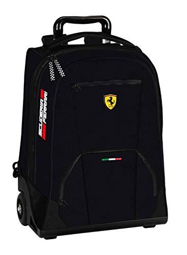 Zaino Trolley Organizzato Ferrari Scuderia Nero 60988-N