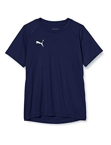 Puma Kinder LIGA Training Jersey Jr T-shirt, Peacoat White, 176