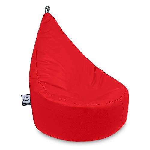 HAPPERS Puff Butaca Polipiel Indoor Rojo Infantil