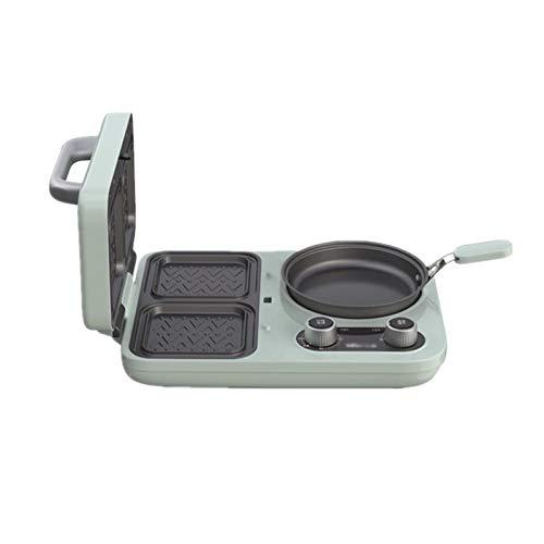 Bdesign Tostadora cuatro en uno, pequeña, multifunción, cocina, sandwichera eléctrica, desayuno, hornear, tamaño A