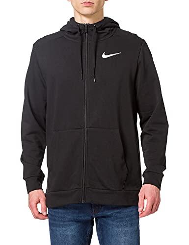 Nike CZ6376-010 M NK DF HDIE FZ FL Felpa Uomo black/(white) XL