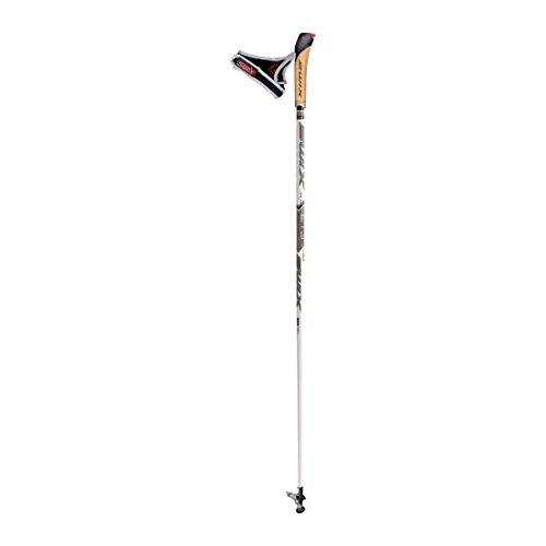 SWIX femme/homme-bâton de marche nordique Blanc/Gris 110 cm