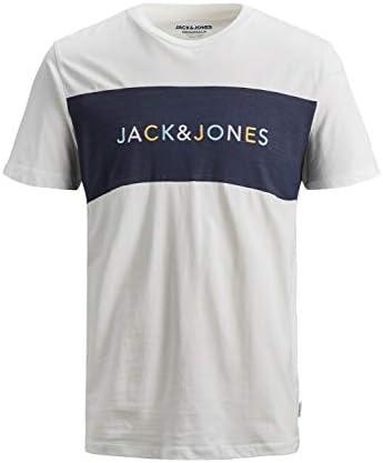 JACK & JONES Camiseta Manga Corta Hombre con Logotipo 12155608