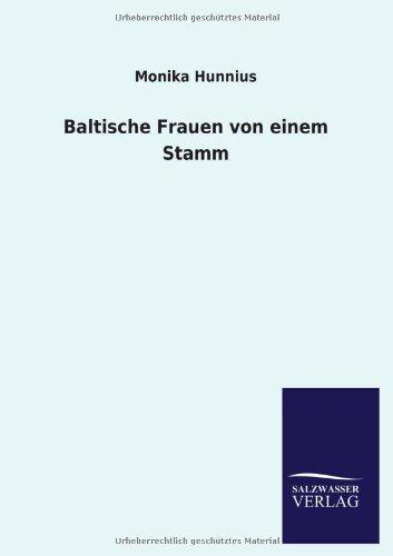 Baltische Frauen von einem Stamm