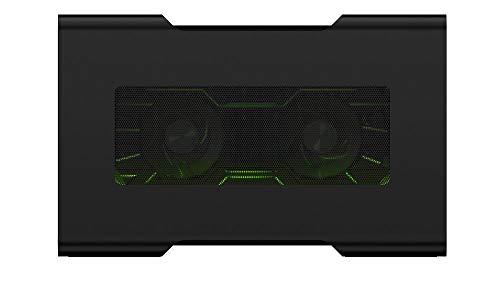 Razer Core V2 Thunderbolt 3 Externes Grafikkarten Gehäuse (mit Chroma, USB 3.0 und Netzwerkanschluss EU) schwarz (Generalüberholt)