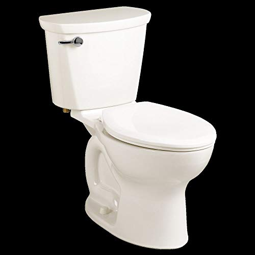 American Standard 215CB104.020 Cadet Pro 1.28 GPF 2-Piece Elongated Toilet with 10-In Rough-In, White