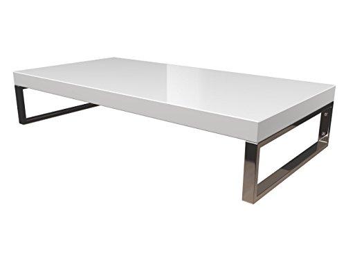 KERABAD Waschtischplatte Waschtischkonsole für Aufsatzwaschbecken und Waschschalen Holzplatte Badmöbel Tischplatte 80x50x5cm Weiss Hochglanz kb-wt50120weissg-4