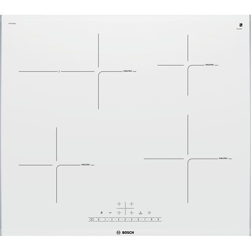 Bosch PIF672FB1E hobs Acero inoxidable, Blanco Integrado Con - Placa (Acero...
