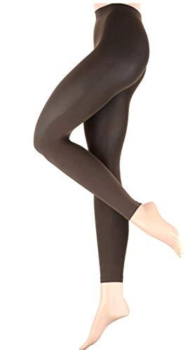 ESPRIT Leggings 50 DEN 2er Pack, Größe:38-40;Farbe:Titan (3257)