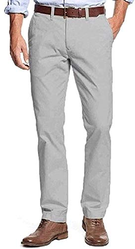 Tommy Hilfiger Mens Tailored Fit Chino Pants (Griffin, 34x30)