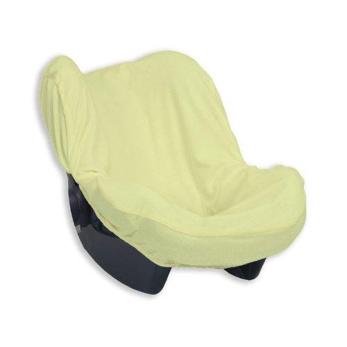 Bolin Bolon Housse de protection universelle pour siège auto groupe 0 En éponge 100 % coton - Vert - 75x55 cm