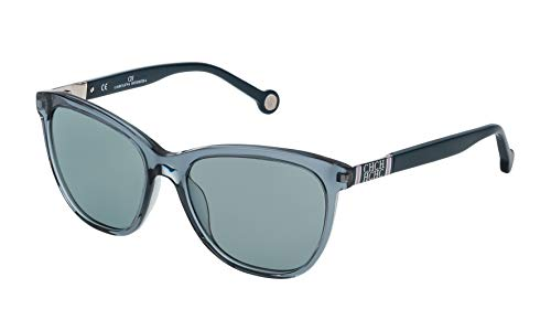 Carolina Herrera SHE691549ABG Gafas de Sol, Azul, 54 para Mujer