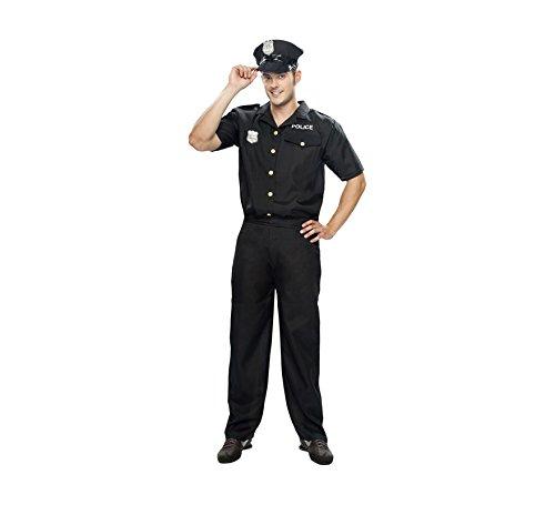 Disfraz de Policía para hombre talla XXL