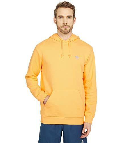 adidas Originals Sudadera con capucha Trefoil Essentials para hombre - naranja - X-Small