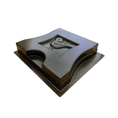 Molde industrial para patas de banco de jardín, hormigón, pavimentación de cemento, piedra, silla, patio, camino, decoración