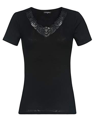 Vive Maria Jardin Noir Shirt Black, Größe:XS