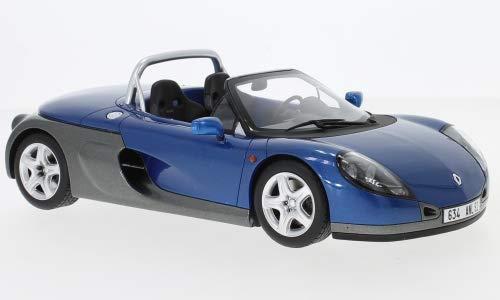 RENAULT Spider, metallic-blau, 1998, Modellauto, Fertigmodell, Ottomobile 1:18