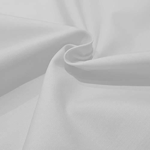 Popelin algodón blanco