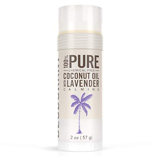 SKINNY & CO. 100% Pure Coconut Oil Deodorant, 2 oz (Lavender, Pack of 1)