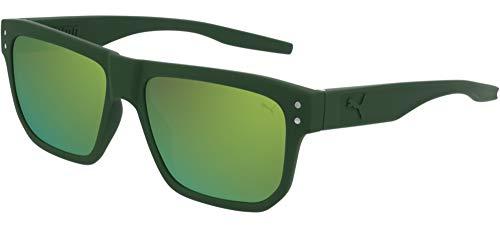 Puma Pu0246s, Gafas De Sol Hombre, Green (005)