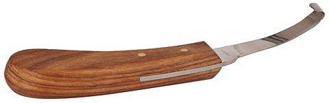 Kerbl Hufmesser doppelt, schmal Holzgriff
