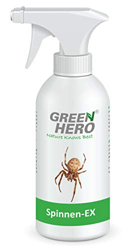 Green Hero Spinnen-EX Spray gegen Spinnen & Insekten, 1 x 500 ml