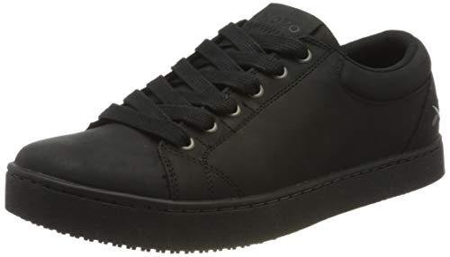 Sneakers antideslizantes M11057-42/8 MOZO FINN de Shoes for Crews, para hombre, con cordones, número 42, Negro