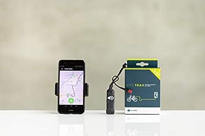 GPS Tracker für E-Bikes mit Bosch/Brose/Shimano Motoren und Motorräder (Diebstahlalarm, Live-Tracking und Routentagebuch) (Bosch Generation 4)