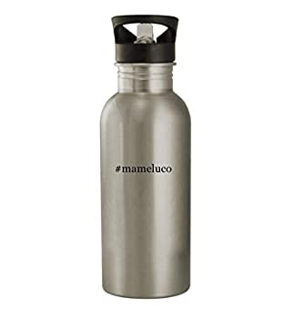 #mameluco - 20oz Stainless Steel Hashtag Outdoor Water Bottle Silver