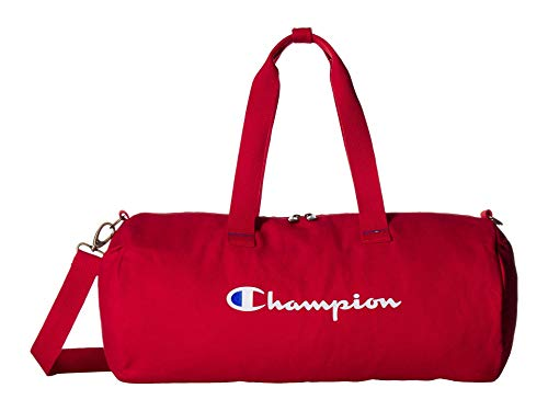 Champion Unisex The Shuffle 2.0 Duffel Medium Red One Size