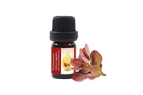 Árbol de las pelucas (Cotinus coggygria) Aceite esencial, 100% puro, sin diluir, grado terapéutico - alemán (5ml)