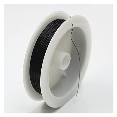 Artesanía de bricolaje Alambre de abalorios de artesanía 0.3mm / 10m 1 rollo suave útil fuerte aleación de aleación de cobre joyería haciendo cordón accesorios de cadena para arte de uñas de bricolaje