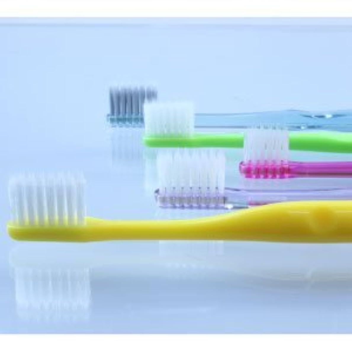 同行する受け入れた弁護士5種類の『超先細+フラット毛 歯ブラシ』お試しアソートセット