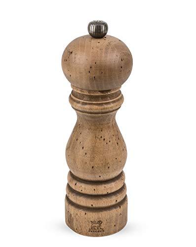 Peugeot PARIS Antiquaire 18 cm Salzmühle, Holz, Braun