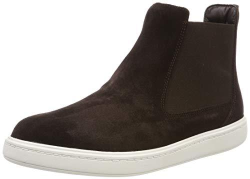 Clarks Jungen StreetChelseaK Chelsea Boots, Braun (Brown Suede), 30 EU