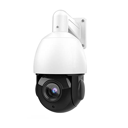 Hikvision Compatible Outdoor 8MP PTZ PoE IP Camera Speed Dome, Pan Tilt 18xOptical Zoom 30x Digital Zoom with 165ft IR Night Vsion, Motion Detect,WDR,IP66,ONVIF Security Camera(4818X-IZ)